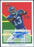 2009 Topps National Chicle Autographs #NCARB Ramses Barden E Autograph
