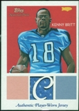 2009 Topps National Chicle Relics #NCRKB Kenny Britt B