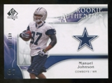 2009 Upper Deck SP Authentic #233 Manuel Johnson /999