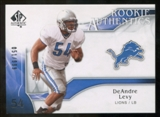 2009 Upper Deck SP Authentic #238 DeAndre Levy RC /999