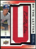 2009 Upper Deck Signature Stars USA By the Letter Autographs #RR Robbie Ray 68/100