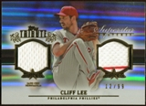 2013 Topps Tribute Superstar Swatches #CL Cliff Lee 12/99
