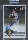2003 Topps Retired Signature #RS Red Schoendienst Auto