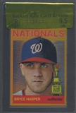 2013 Topps Heritage #HC50 Bryce Harper Chrome Gold Refractor #1/5 BGS 9.5 Raw Card Review