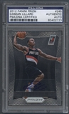 2012/13 Leaf Best of Basketball Panini Prizm #245 Damian Lillard Rookie Auto PSA DNA