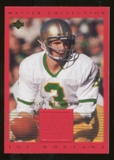 2000 Upper Deck Montana Master Collection #1 Joe Montana /250