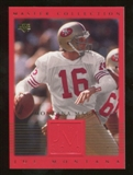 2000 Upper Deck Montana Master Collection #7 Joe Montana /250