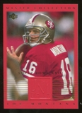2000 Upper Deck Montana Master Collection #12 Joe Montana /250