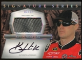 2012 Press Pass Signature Series Race Used #PPAKH1 Kevin Harvick Tire Autograph 03/12