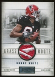 2011 Panini Playbook Grass Roots Materials Brand Logo Prime #19 Roddy White 2/3