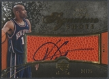 2007/08 Upper Deck Sweet Shot #VC Vince Carter Signature Shots Ball Auto #24/25
