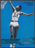 2011/12 Fleer Retro #27 George Gervin Precious Metal Gems Blue #33/50