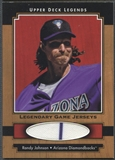 2001 Upper Deck Legends #JRJO Randy Johnson Legendary Game Jersey