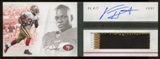 2011 Panini Playbook Gold #121 Kendall Hunter Jersey Autograph 02/49