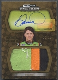 2010 Press Pass Showcase #51 Danica Patrick Gold Rookie Firesuit Auto #13/25