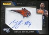 2012 Panini Black Friday Manufactured Patch Autographs #MKG Michael Kidd-Gilchrist Autograph