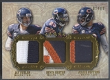 2012 Topps Five Star #FSTPCHP Jay Cutler Julius Peppers Devin Hester Triple Patch #01/10