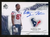 2009 Upper Deck SP Authentic #302 Anthony Hill Autograph /999