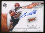 2009 Upper Deck SP Authentic #304 Bernard Scott RC Autograph /999