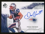 2009 Upper Deck SP Authentic #305 Julian Edelman RC Autograph /999