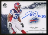 2009 Upper Deck SP Authentic #311 Jairus Byrd RC Autograph /999