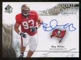 2009 Upper Deck SP Authentic #321 Roy Miller RC Autograph /999