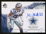 2009 Upper Deck SP Authentic #326 Mike Mickens RC Autograph /999