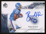 2009 Upper Deck SP Authentic #328 Ryan Mouton Autograph /999