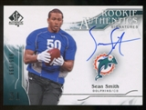 2009 Upper Deck SP Authentic #329 Sean Smith Autograph /999