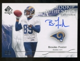 2009 Upper Deck SP Authentic #334 Brooks Foster Autograph /799