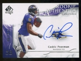 2009 Upper Deck SP Authentic #335 Cedric Peerman RC Autograph /799