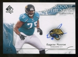 2009 Upper Deck SP Authentic #337 Eugene Monroe Autograph /799