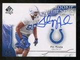 2009 Upper Deck SP Authentic #338 Fili Moala Autograph /799