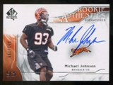 2009 Upper Deck SP Authentic #343 Michael Johnson RC Autograph /799