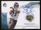 2009 Upper Deck SP Authentic #347 Rashad Jennings Autograph /799