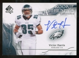 2009 Upper Deck SP Authentic #349 Victor Harris RC Autograph /799