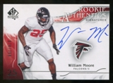 2009 Upper Deck SP Authentic #350 William Moore RC Autograph /799