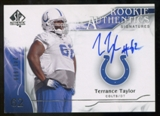 2009 Upper Deck SP Authentic #364 Terrance Taylor Autograph /999