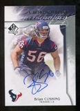 2009 Upper Deck SP Authentic Chirography #CHBC Brian Cushing Autograph