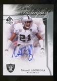 2009 Upper Deck SP Authentic Chirography #CHNA Nnamdi Asomugha Autograph