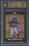 2007 Topps Chrome #TC181 Adrian Peterson Xfractor Rookie BGS 9.5