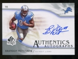 2009 Upper Deck SP Authentic Autographs #SPBP Brandon Pettigrew Autograph