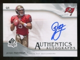 2009 Upper Deck SP Authentic Autographs #SPJF Josh Freeman Autograph