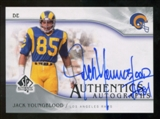 2009 Upper Deck SP Authentic Autographs #SPJY Jack Youngblood Autograph