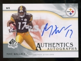 2009 Upper Deck SP Authentic Autographs #SPMW Mike Wallace Autograph