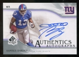 2009 Upper Deck SP Authentic Autographs #SPRB Ramses Barden Autograph