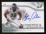 2009 Upper Deck SP Authentic Autographs #SPSA Stacy Andrews Autograph