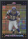 2007 Topps Chrome #TC181 Adrian Peterson Xfractor Rookie