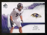 2009 Upper Deck SP Authentic #207 Paul Kruger /999