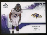 2009 Upper Deck SP Authentic #208 Lardarius Webb RC /999